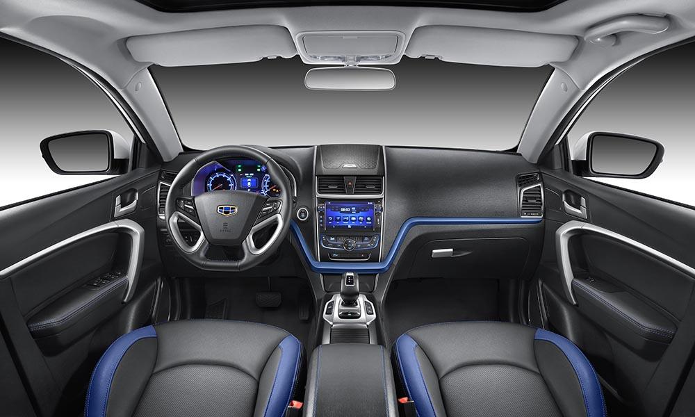 吉利帝豪EV2016款官图中控全图