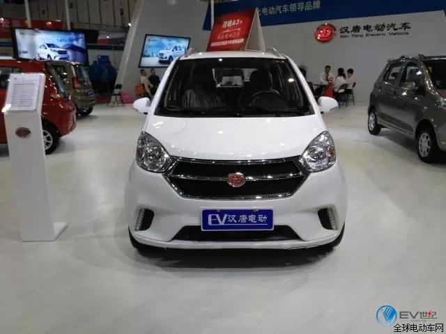 汉唐电动汽车亮相南京展,让人毫无抵抗力!