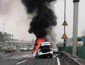 广州特斯拉Model X爆炸燃烧事故 特斯拉给出官方回应