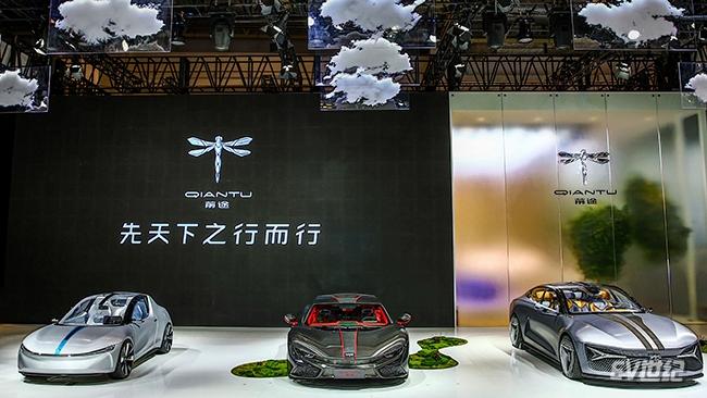 前途将携旗下三款电动跑车亮相2018广州车展