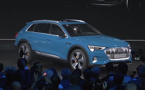 奥迪e-tron正式发布 看这款纯电中型高级SUV有什么硬实力