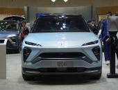 2019海口新能源车展 蔚来汽车全系产品亮相展台