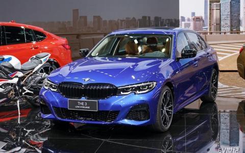 2019上海车展|实拍宝马新3系 未来有望引入插混车型