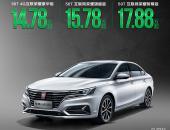 荣威ei6 PLUS上市 补贴后售14.78万-17.88万元