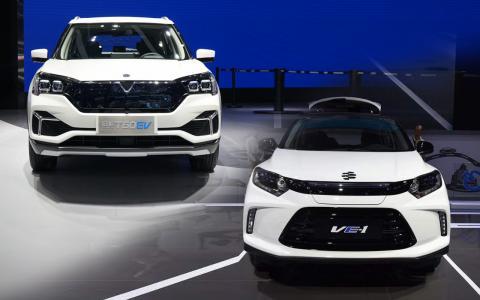 合资自主小型纯电动SUV对比 启辰T60 EV吊打理念VE-1