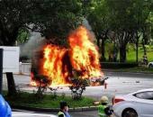 深圳电动货车追尾起火导致司机死亡,南京依维柯正密切关注