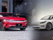 汉EV与特斯拉Model 3的遭遇战,谁更受中国消费者喜爱