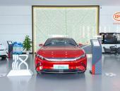 比亚迪汉EV新车到店,实车体验超越期待
