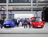 特斯拉中国制造Model Y、新款Model 3 亮相2021海口新能源暨智能网联车展
