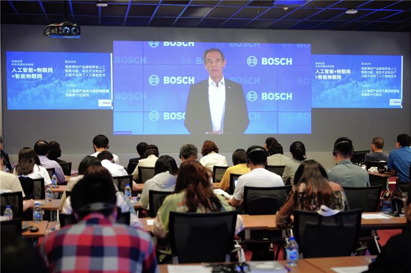 01_博世集团董事会主席沃尔克马尔·邓纳尔博士连线致辞 Dr. Volkmar Denner, chairman of the board of management of Robert Bosch GmbH.jpg