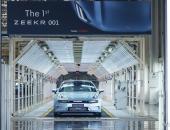 ZEEKR 001量产车下线,首批用户交付将于10月23日开启